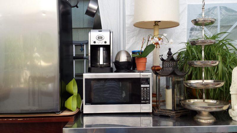 cucinare con la vaporiera a microonde