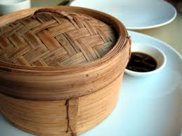 vaporiera cinese cestelli bambù