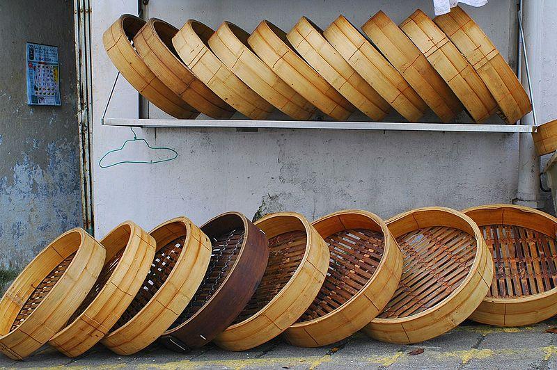 vaporiera in bambù costo cestelli