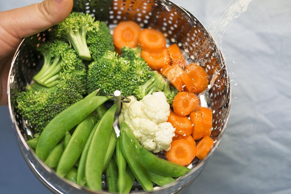 verdure a vapore